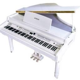 Maravilhoso Piano Tokai TP 88 C Branco