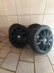 Vendo  rodas e pneus 17 205/45
