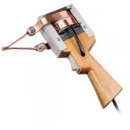 Ferro Solda Pistola Estanho Profissional 350wts 220v
