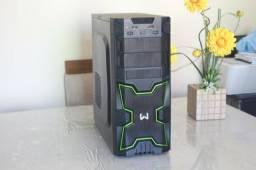 Computador gamer Core I5 4gb 500gb R7 250 Windows 10 até 12x