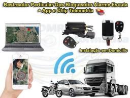 Aparelho Rastreador e Bloqueador Veicular GPS Instalado