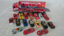 Coleção Ferrari Hot Wheels comprar usado  Brasília