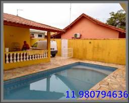 Casa com piscina em Itanhaém Férias de Julho