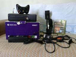 Xbox 360 kinect 250 gb disco rigido hd