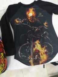 Camisa Motoqueiro Fantasma