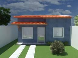 Casa 2/4 Padrão moderno, localizado no bairro Santo Antônio no valor de 140 mil