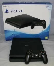 PS4 Slim 1tb com 1 controle e 1 ano de garantia