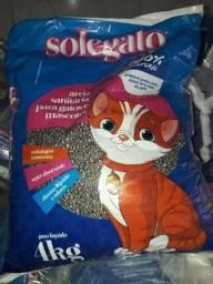Areia granulada para gato pacote 4kg