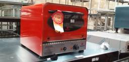 Forno little chef elétrico PRPE200 color 220v chega até 250 graus, 38x43