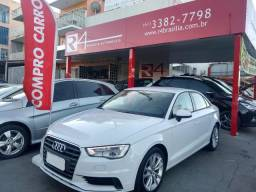 Audi A3 2015 Attraction 1.4 Turbo banco de couro + rodas versão mais top