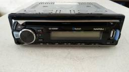 CD MP3 USB e Bluetooth