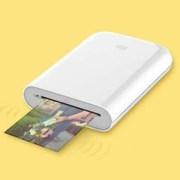 Xiaomi impressora fotográfica de bolso Ar/tecnologia coneção múltipla/ foto de voz -Branco