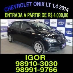 A sua loja em Belem! Chevrolet Onix Lt 1.4 2014, falar com Igor na RAFA VEICULOS - 2014