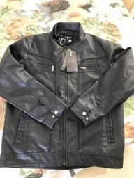 Jaquetas de couro na promoção