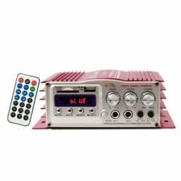 Mini Modulo Amplificador Lelong Le-702 Karaoke, usado comprar usado  Goiânia