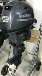 Motor Popa Yamaha F-25 4T - Lançamento - 2019