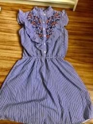 Vestido Bordado