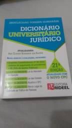 Dicionário Universitário Jurídico 21° edição