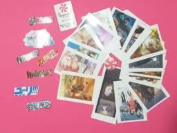Figurinhas adesivas otaku combo 15un Faça as suas