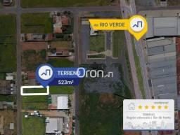 Terreno à venda, 523 m² por R$ 270.000,00 - Vila Rosa - Goiânia/GO