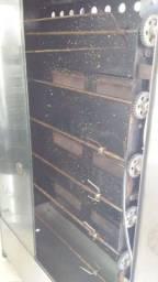 Máquina de assar de frango