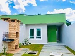 WS casa nova com 3 quartos 2 banheiros com otimo acabamento prox. messejana