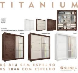 Roupeiro Titanium em promoção imperdível