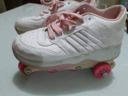 Patins 4 rodas estilo Roller Tênis