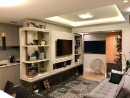 Apartamento 100% Mobiliado - 3 Dorm/suíte, Duas Vagas + Deposito - Novo, Areá de Lazer