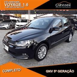 Volkswagen Voyage Comfortline 1.6 MSI 2016 com GNV 5ª Geração