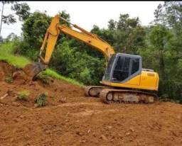 Escavadeira case 100%parcelado Entrada 12.000