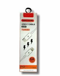 Cabo De Dados Type-c Para lightning Turbo Hmaston