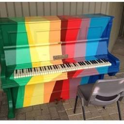 Aulas de violão teclado acordeon