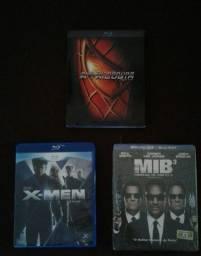 Blu Ray (Homens de Preto, Homem Aranha Trilogia)