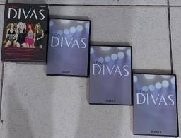 DVD'S/COLEÇÃO DIVAS C/3 DVD'S
