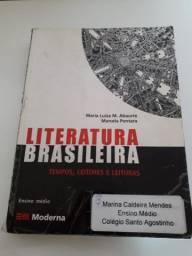 Livro Literatura Brasileira: Tempos, Leitores E Leituras