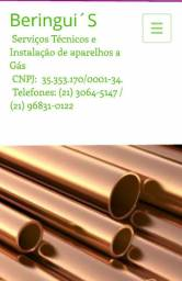 Técnico gasista / Beringui's Serviços Técnicos e Instalação de aparelhos a gás.