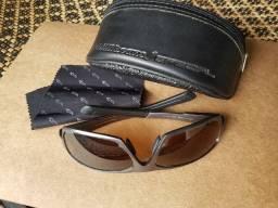 Óculos de sol Chilli Beans polarizado com armação em alumínio