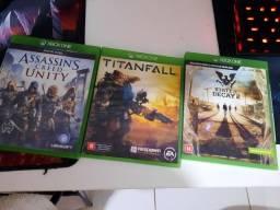 V/T Jogos Xbox One por jogos de Ps4