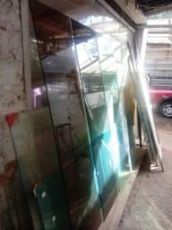 Vidro temperado para box Usado