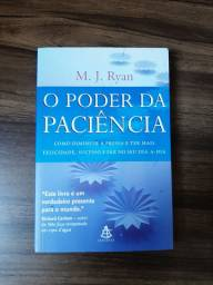 """Livro """"o poder da paciencia"""" 10 reais"""