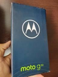 Moto G30 128gb , dark prism e white lilac, lacrados,  1350 reais