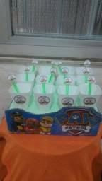 20 copos para brigadeiros