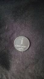 Moeda de 1 centavo de 1969
