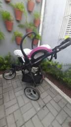 Carrinho Bebê Conforto Off Road High Trek completo