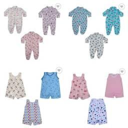 Roupas de bebê kit com 36 peças menino/menina (Leia a descrição)