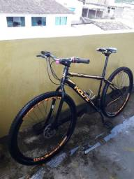 Bike Aro 29 Aço Carbono.