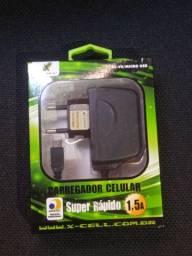 Carregador de Celular micro USB