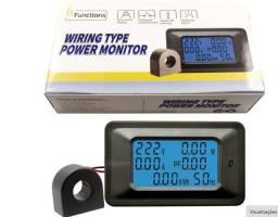 Wattímetro - Medidor Energia/consumo 6x1 - P/110v/220v