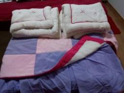 Colcha de solteiro para cama embutida